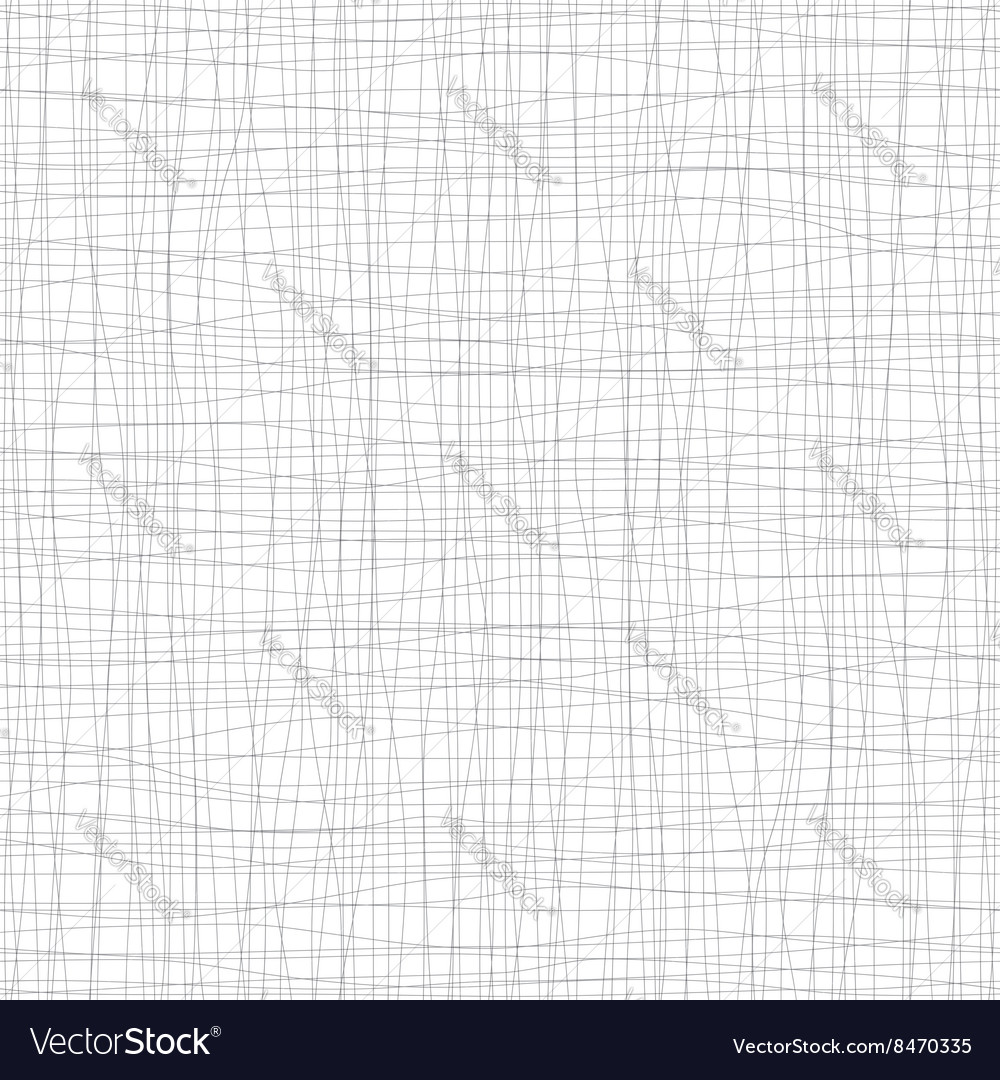 Seamless background with black lines and curves vector image