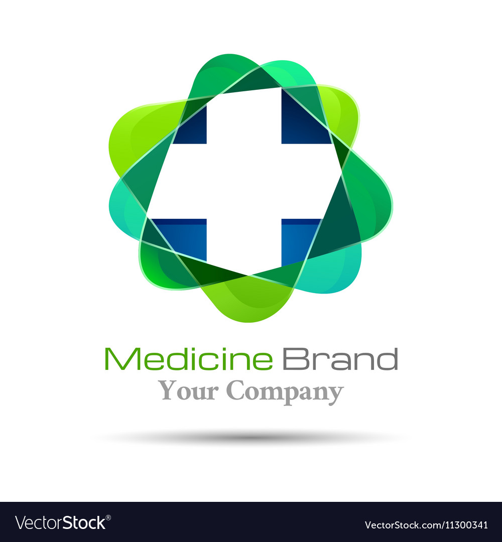 Medical pharmacy logo design Template for your vector image