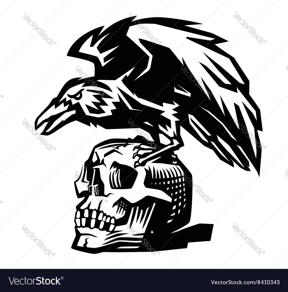 raven vector images over 1 300