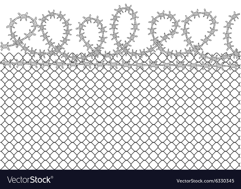 Prison background vector image