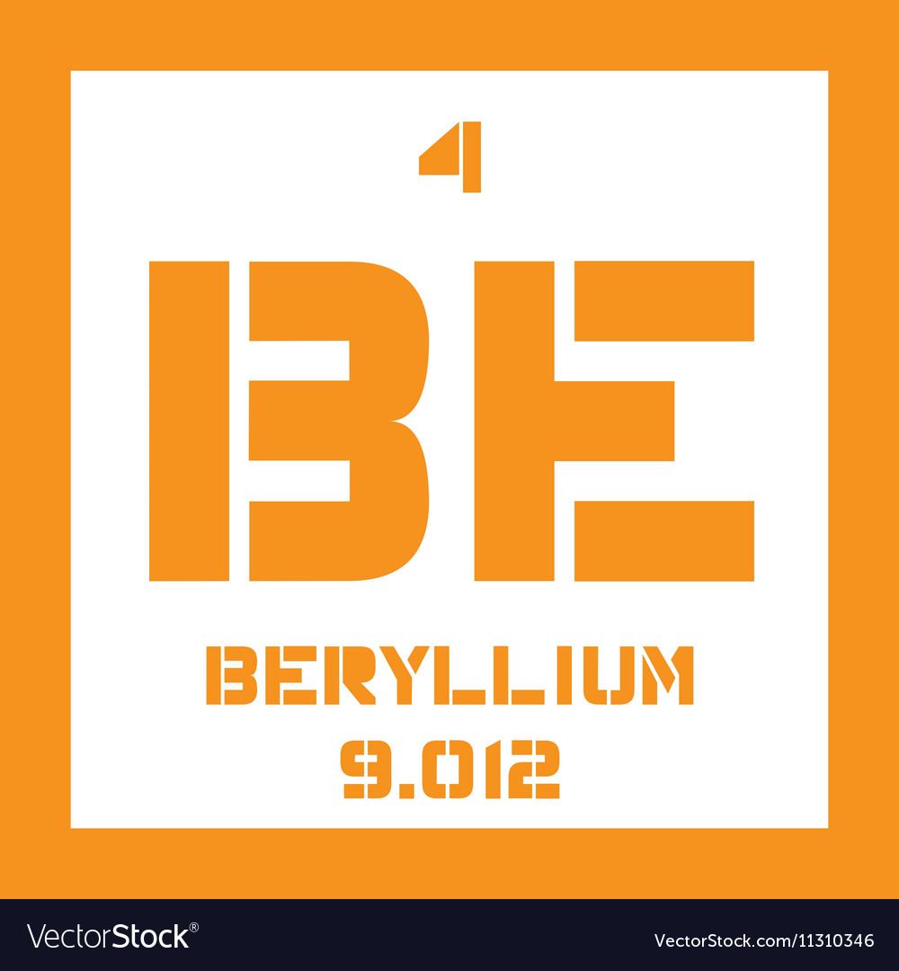Beryllium vector images 17 buycottarizona Image collections