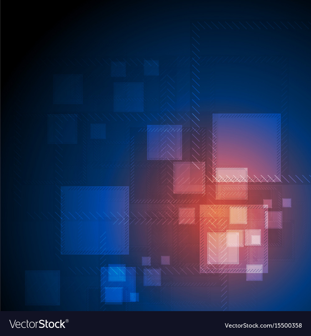 Shiny abstract futuristic technical background vector image