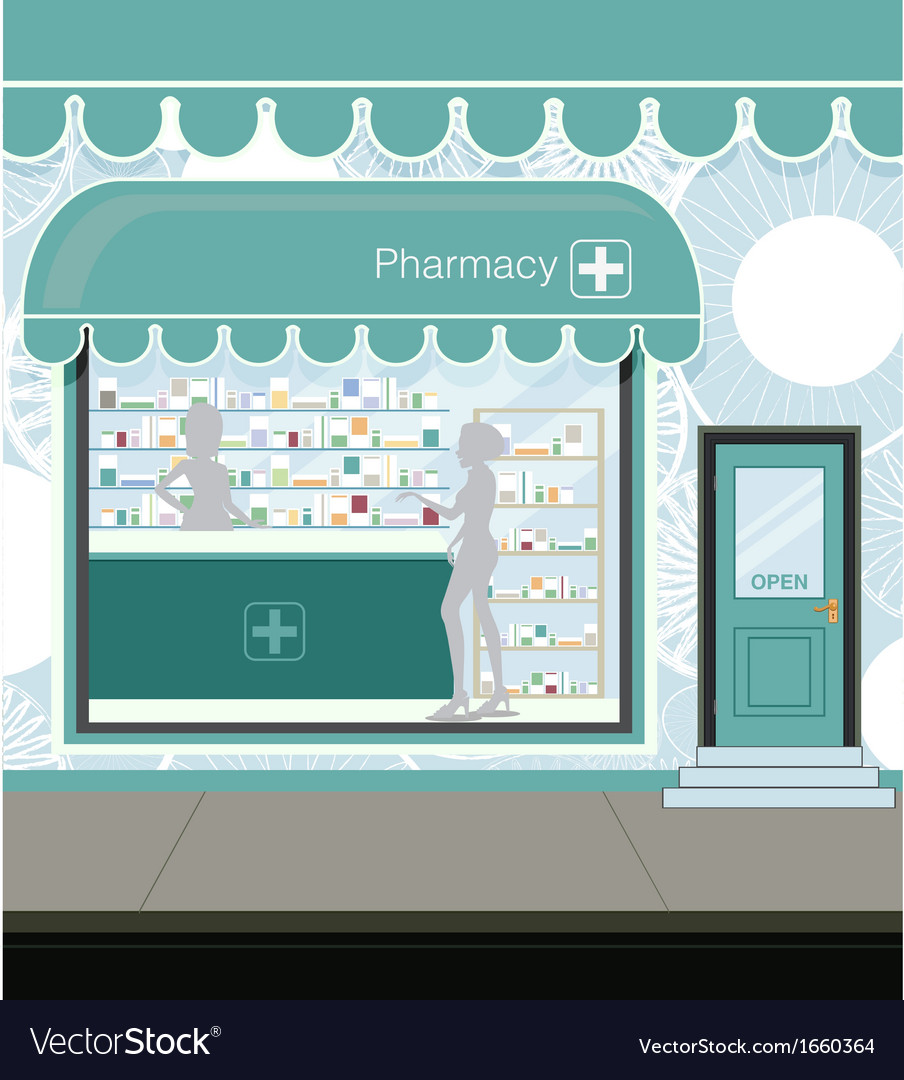 Pharmacy vector image
