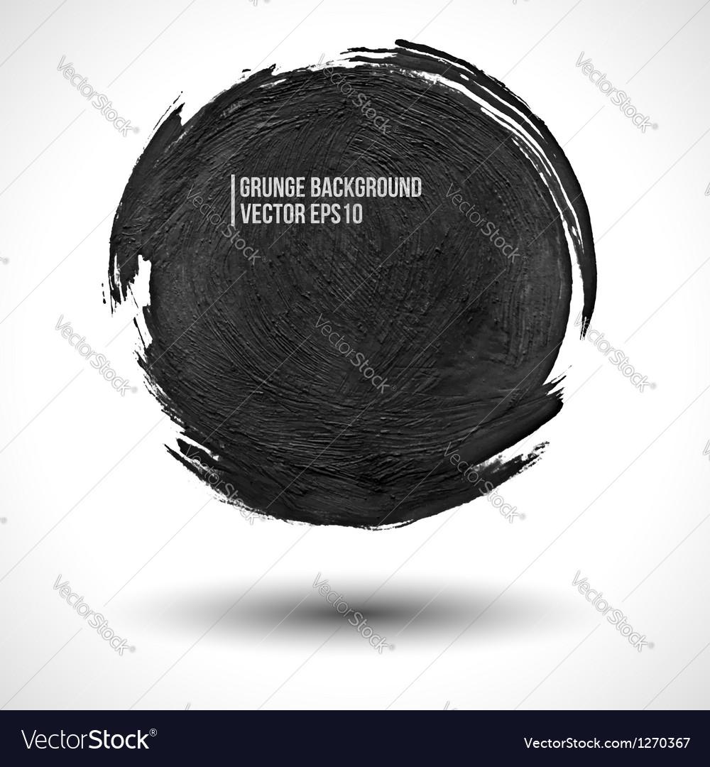 Dark business background vector image