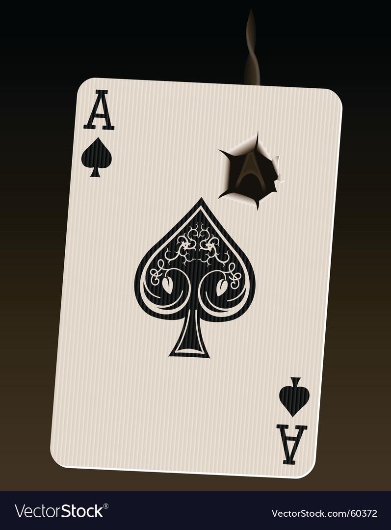 Death card vector image