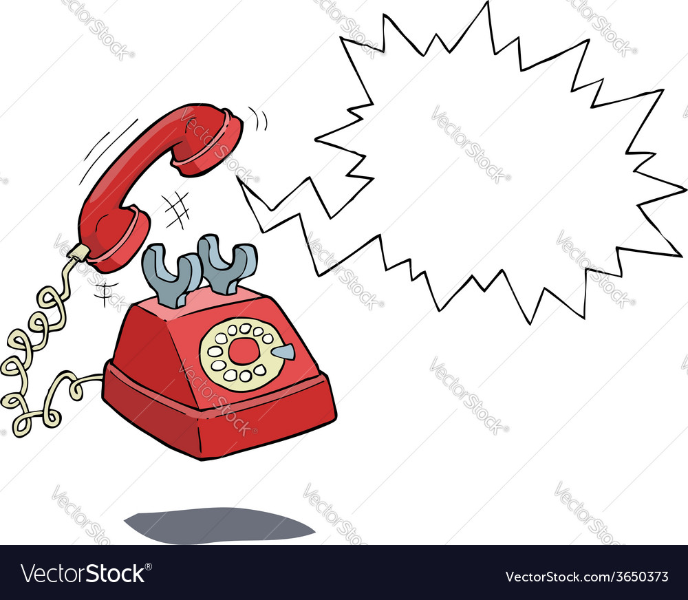 Phone call vector image