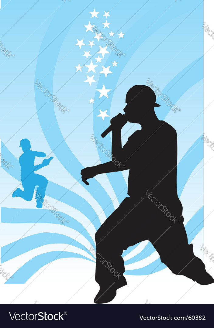 Hip hop vector image
