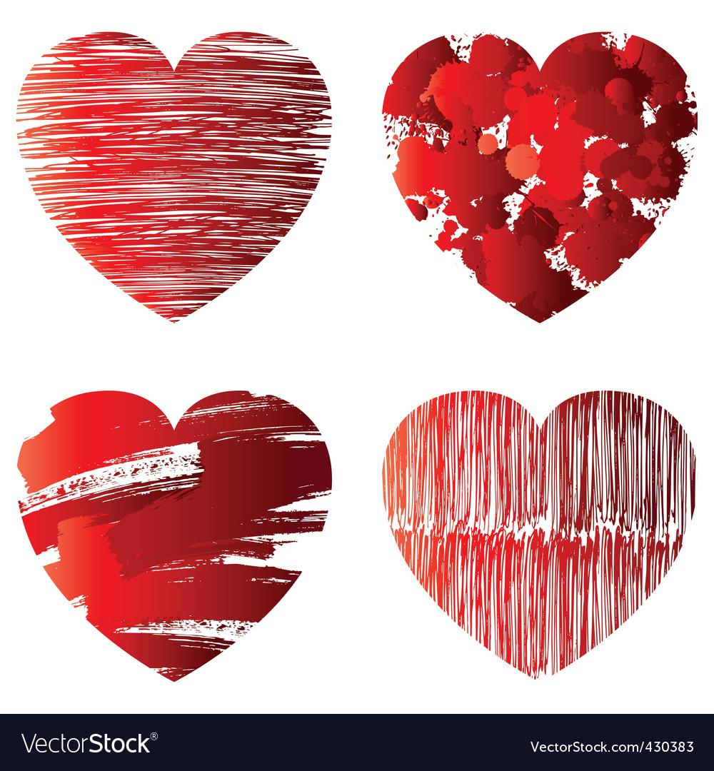Hearts symbols royalty free vector image vectorstock hearts symbols vector image biocorpaavc