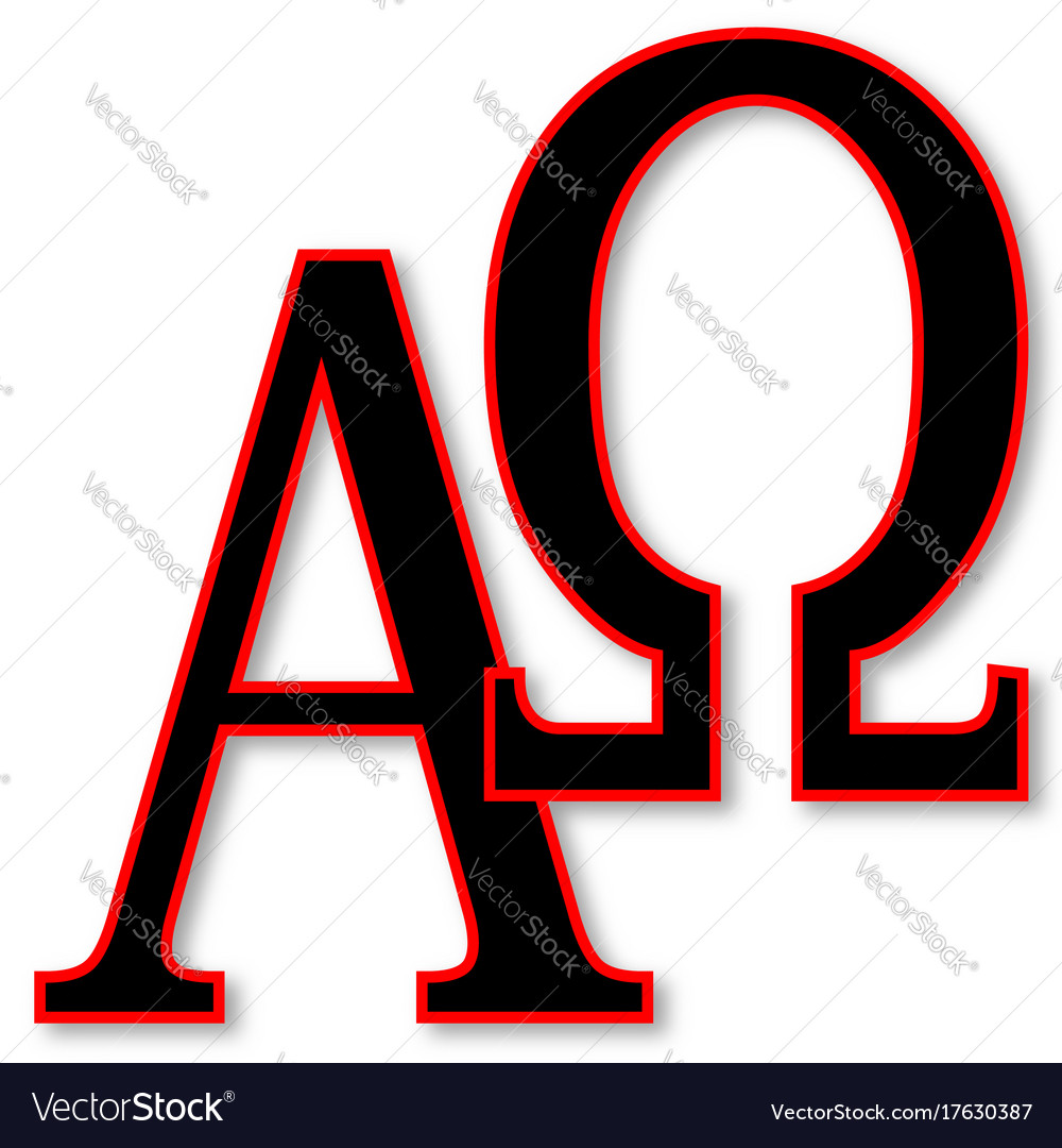 Alpha and omega royalty free vector image vectorstock alpha and omega vector image biocorpaavc Gallery