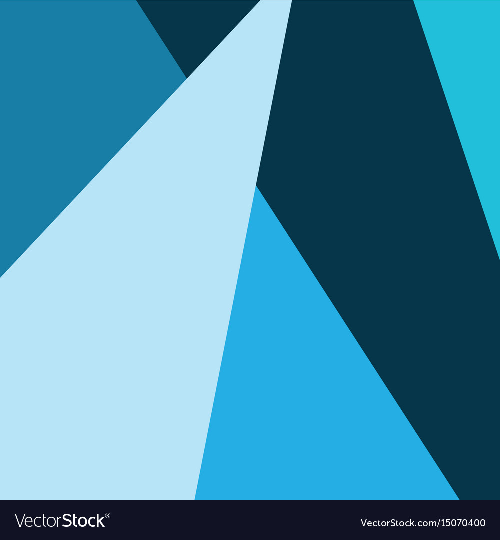 Wallpaper geometric abstract decoration modern vector image