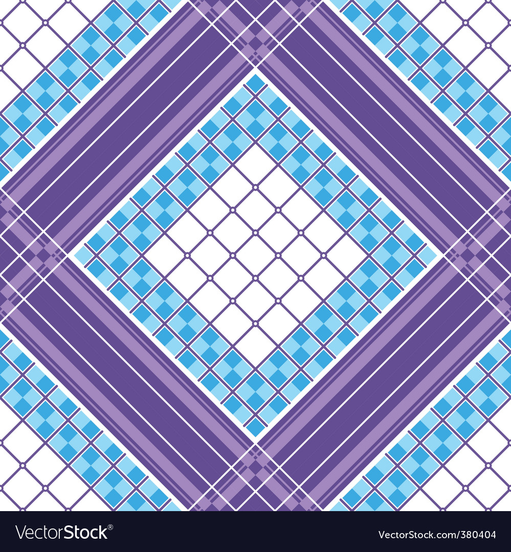 Vector seamless pattern vector image