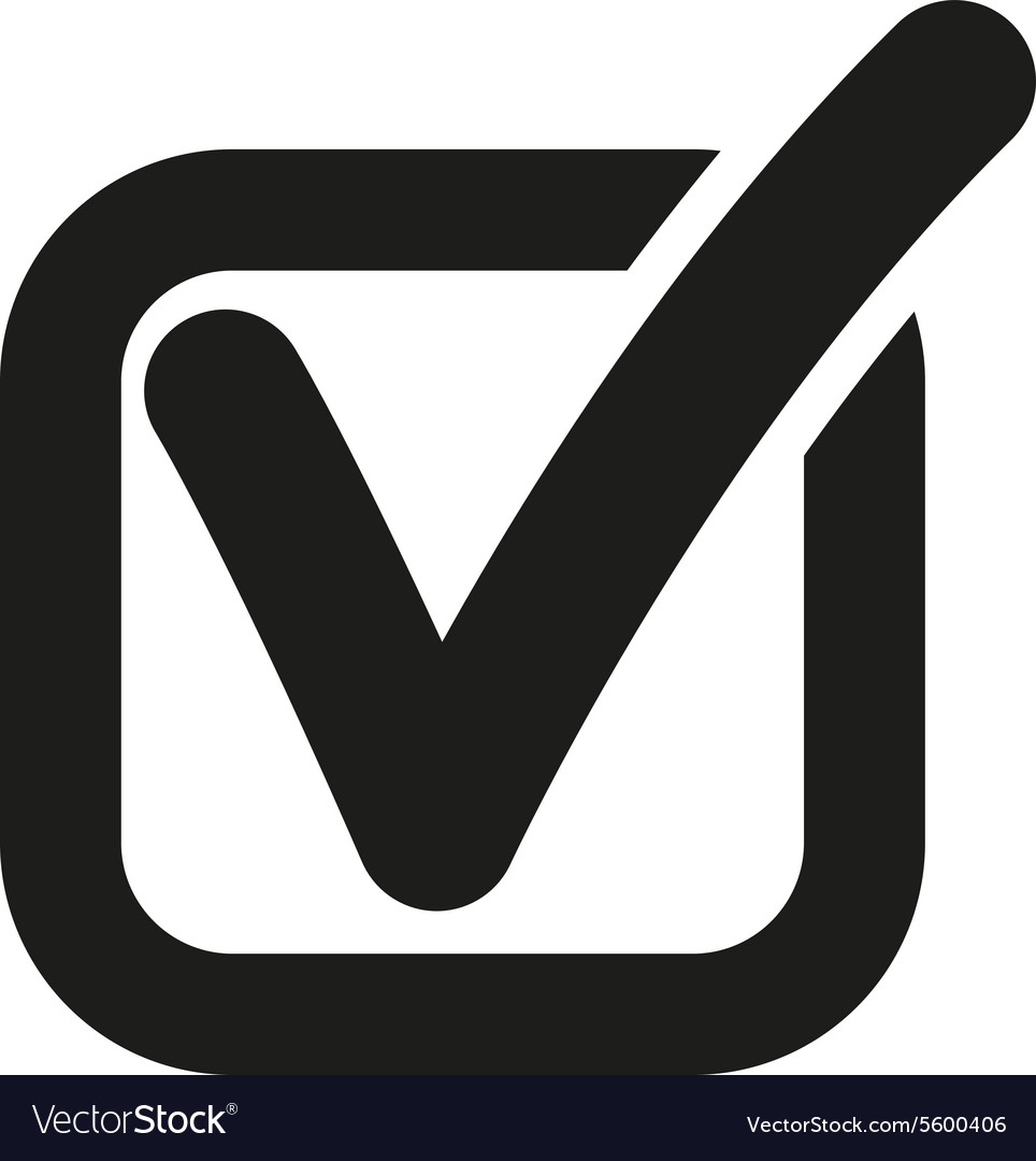 The check icon checkmark and checkbox yes vector image biocorpaavc Gallery