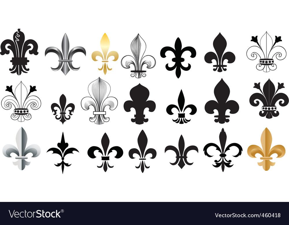 Fleur- de-Lis vector image