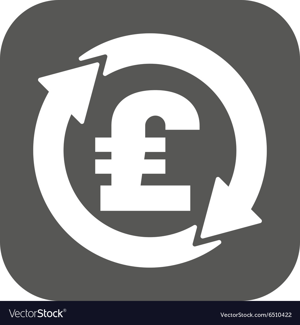 The currency exchange pound sterling icon cash vector image biocorpaavc Gallery