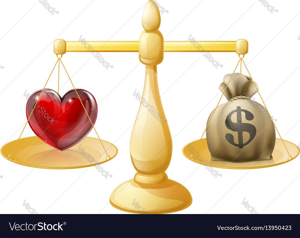 Work life balance vector image