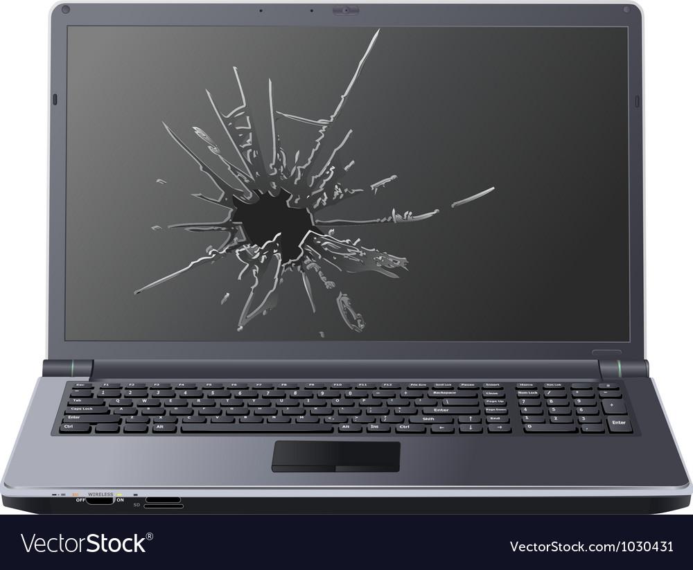 Laptop7 vector image