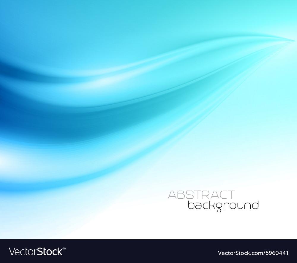 Beautiful Blue Satin Drapery Background vector image