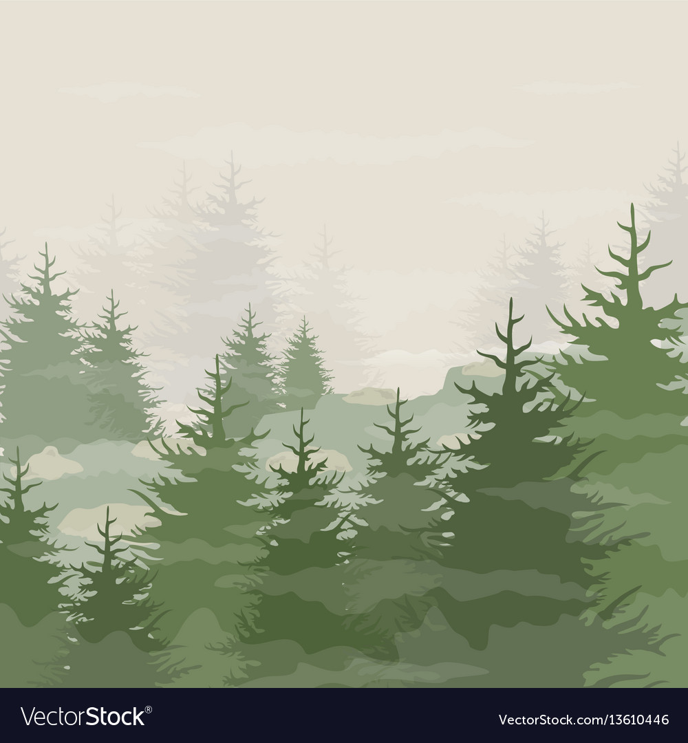 Forest5 vector image