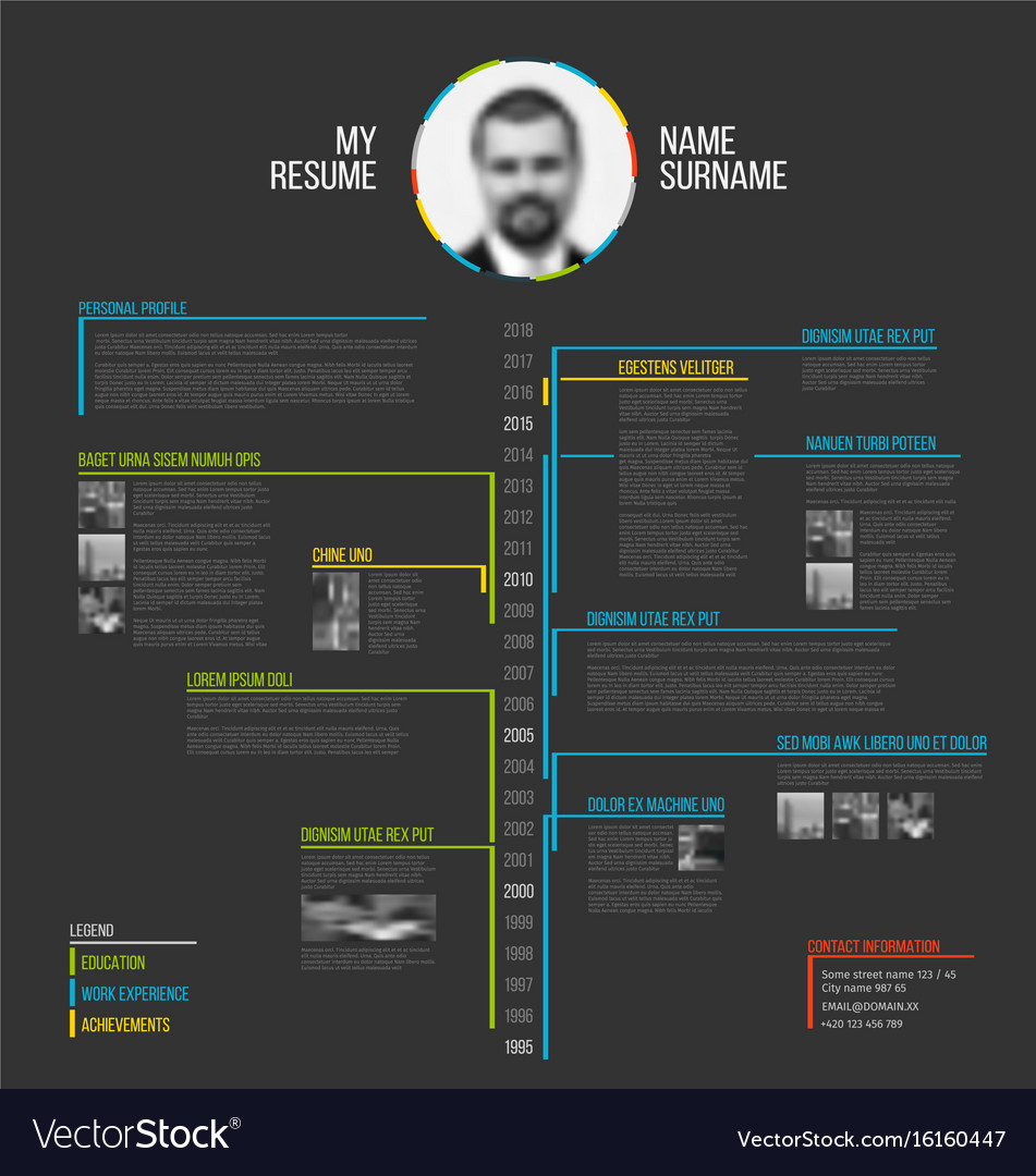Infographic resume template venngage infographic resume template timeline minimalist cv resume template royalty free vector timeline resume template yelopaper Choice Image