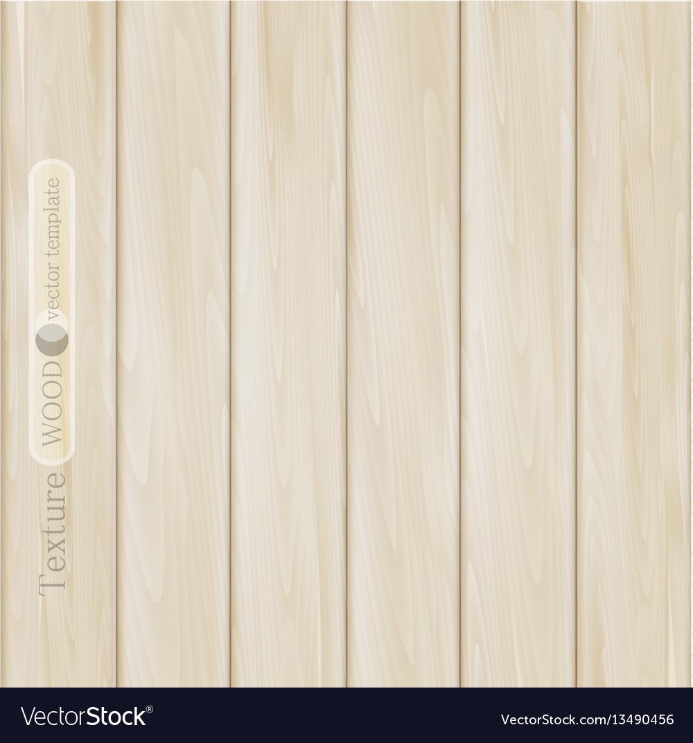 Wood background- texture of light brown beige vector image