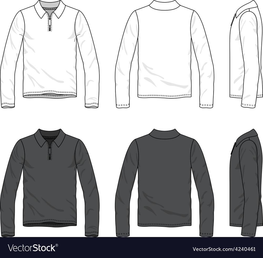 Polo tee vector image