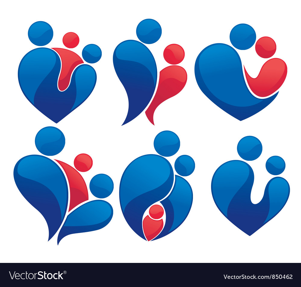 Love family and relationship Vector Image