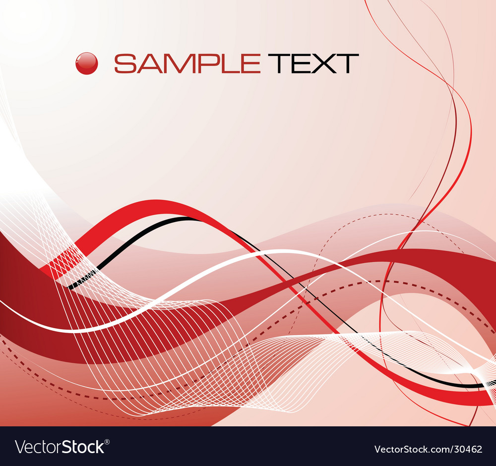 Abstract graphic composition vector image