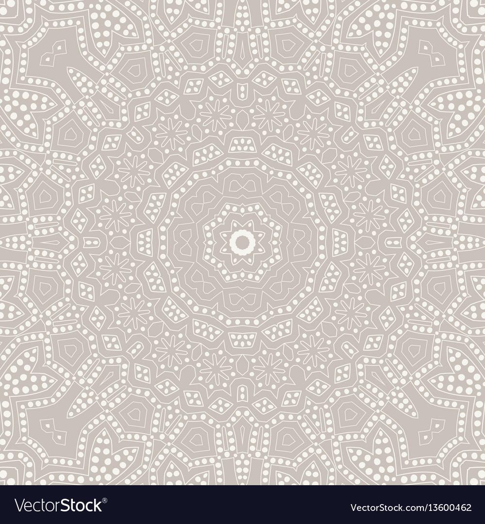 Mandala background ethnicity ornament vector image