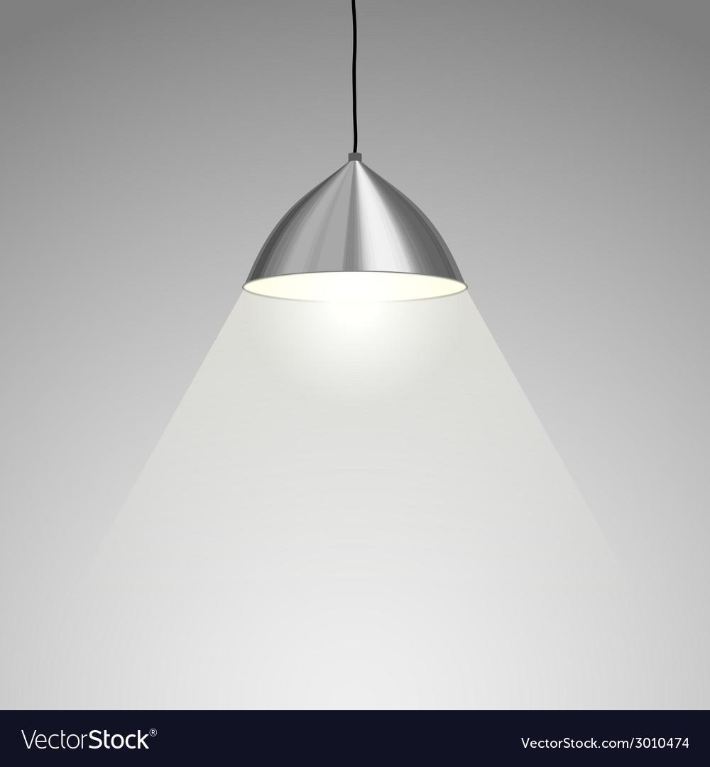 Hanging Lamp Royalty Free Vector Image