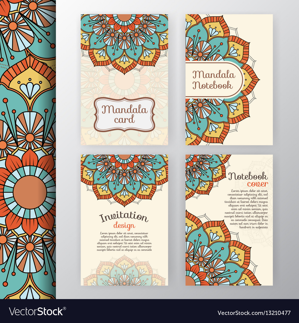 Intage invitation and background design vector image
