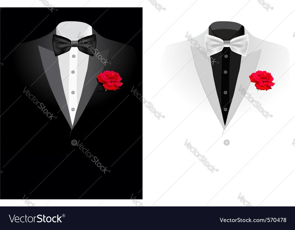 Wedding suite Royalty Free Vector Image - VectorStock