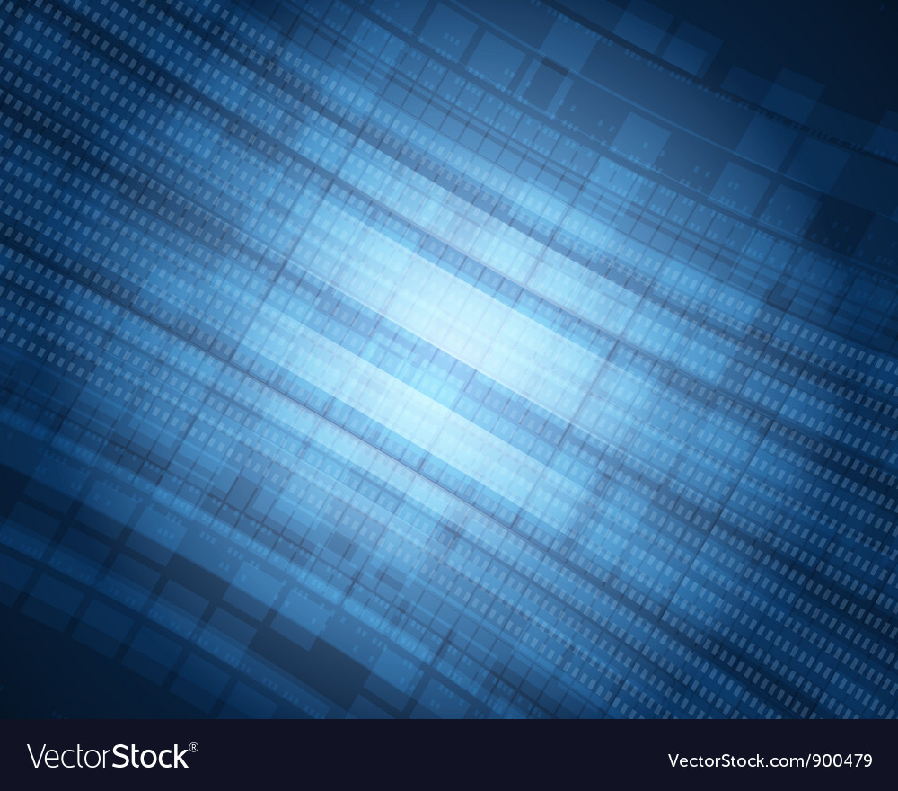 Abstract technology space backgound vector image