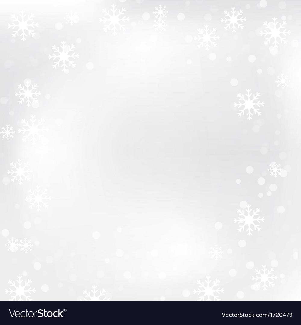 Christmas snow flake 1 vector image