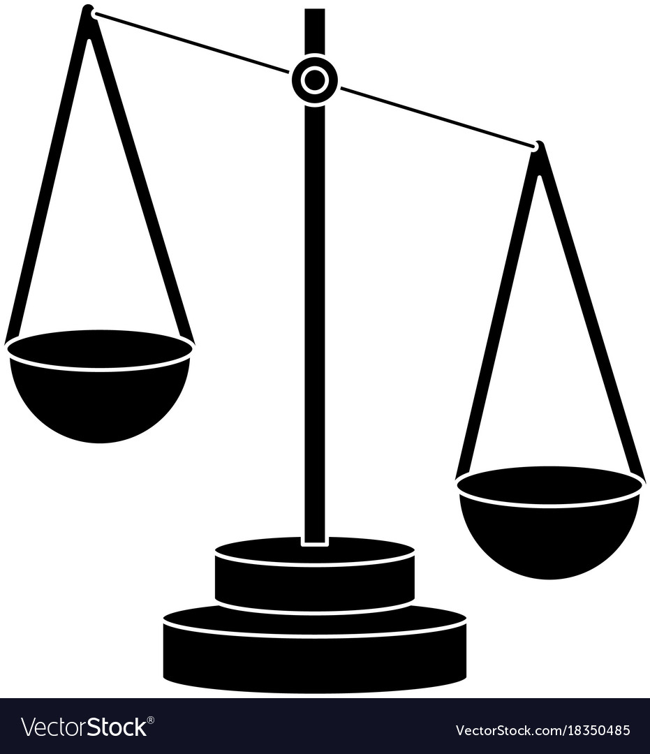 Justice balance symbol royalty free vector image justice balance symbol vector image biocorpaavc Images