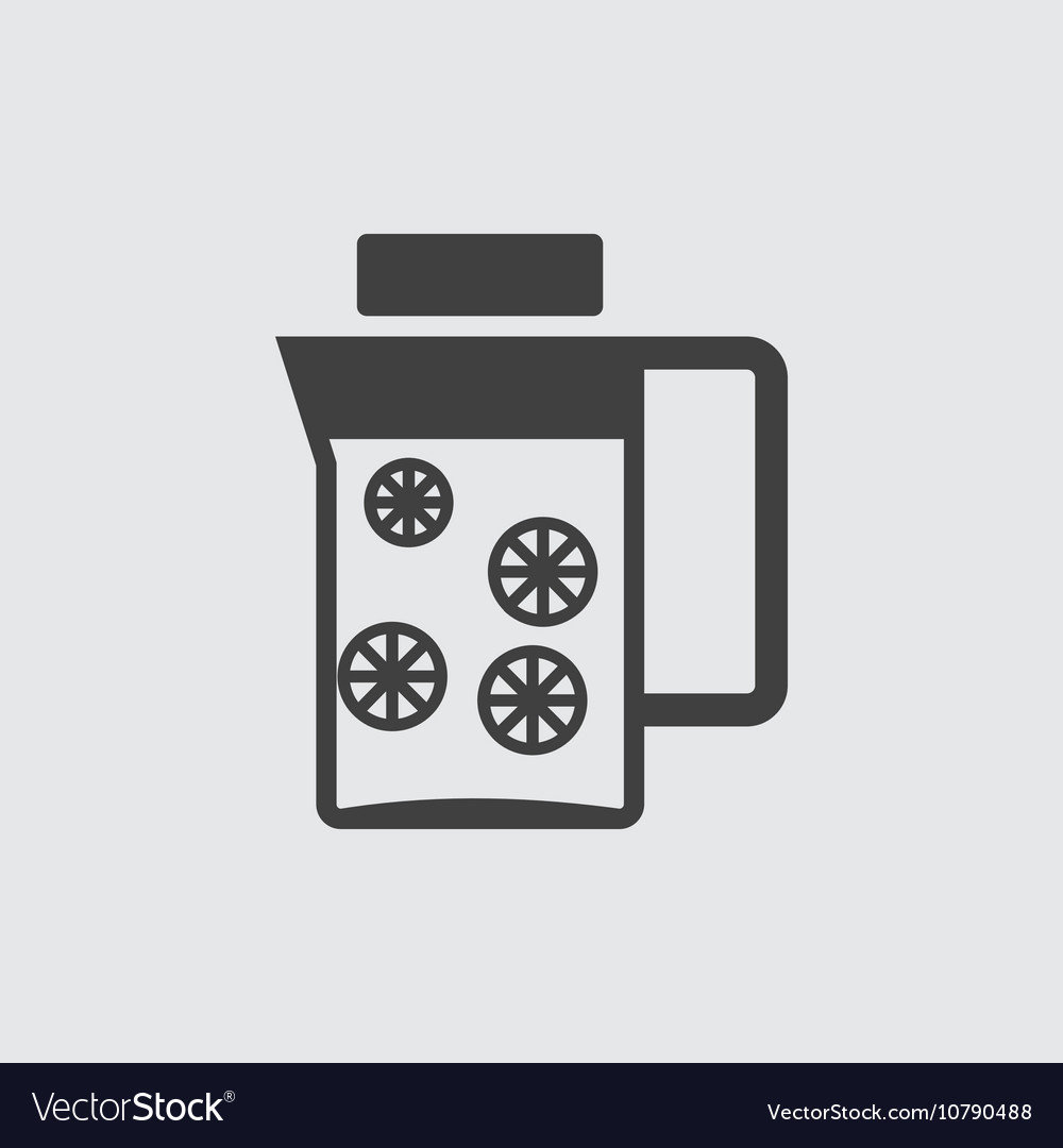 Decanter icon vector image