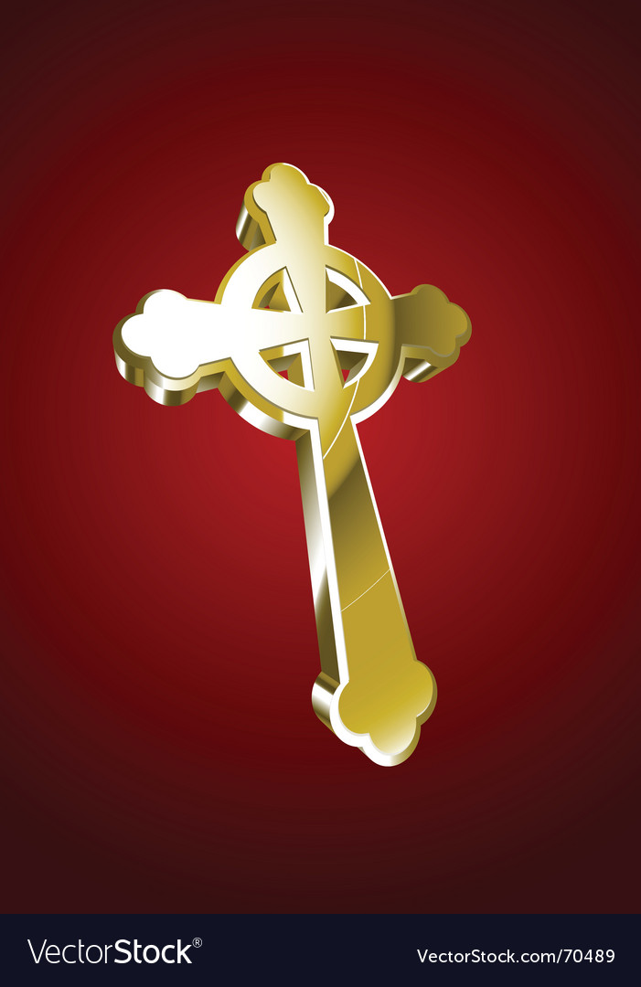 Celtic Cross Gold Vector Images 58