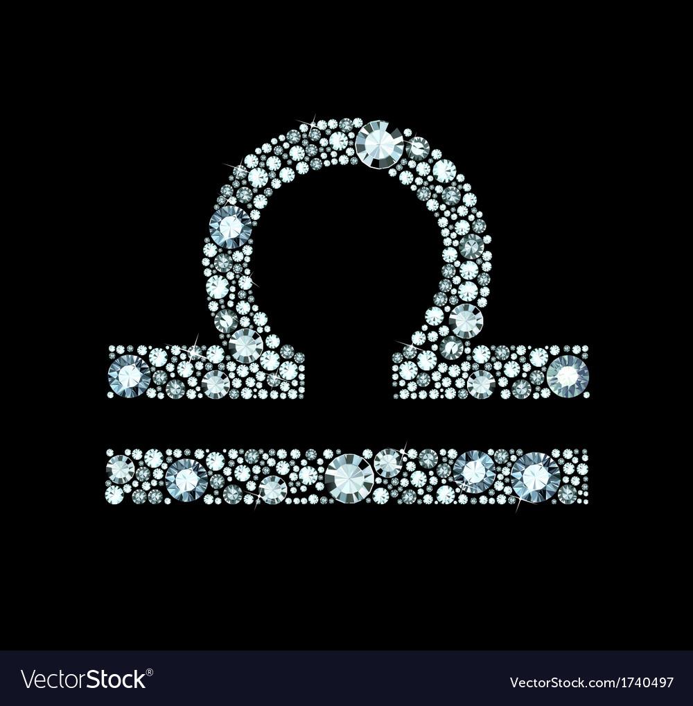 Diamond libra symbol royalty free vector image diamond libra symbol vector image biocorpaavc Choice Image