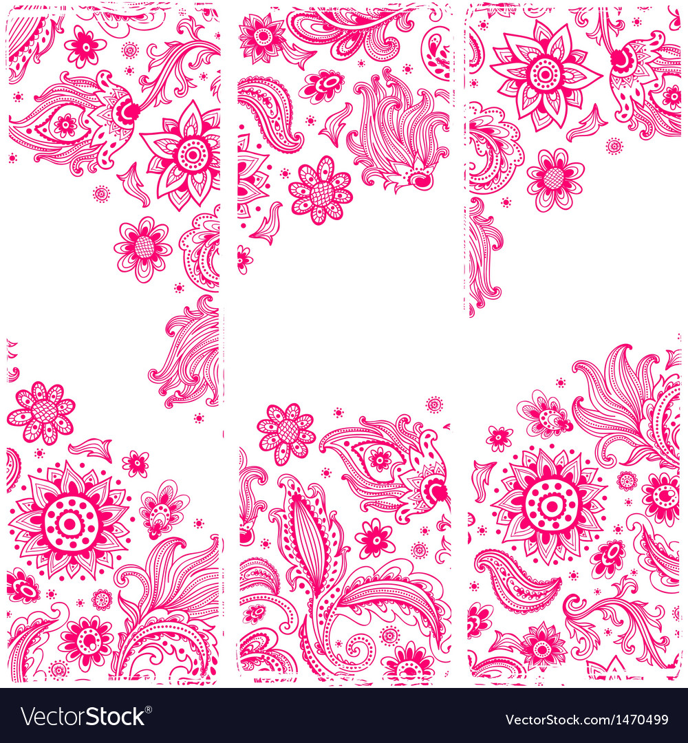 Beautiful ornament vector image
