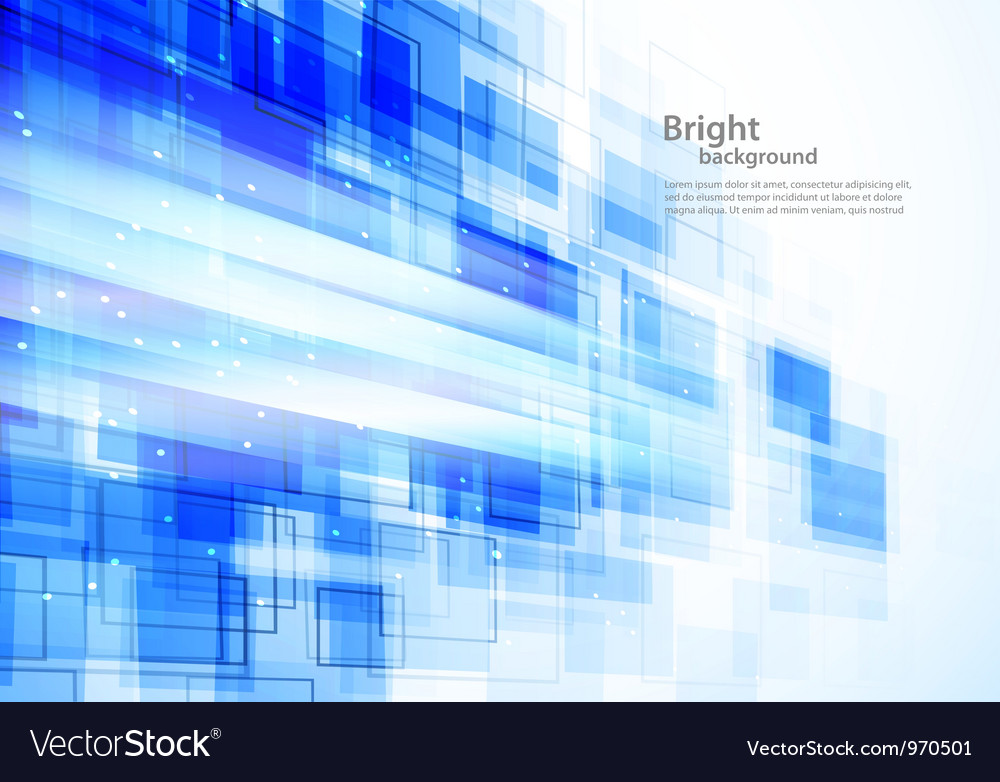 Background wiht squares vector image