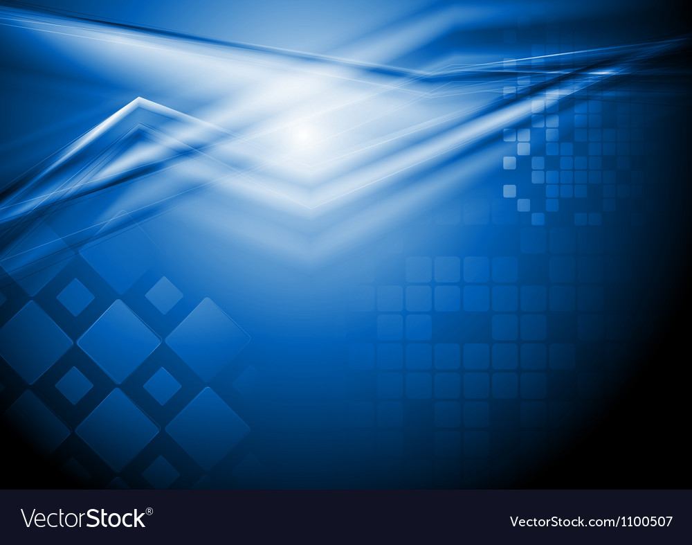 Dark blue design vector image