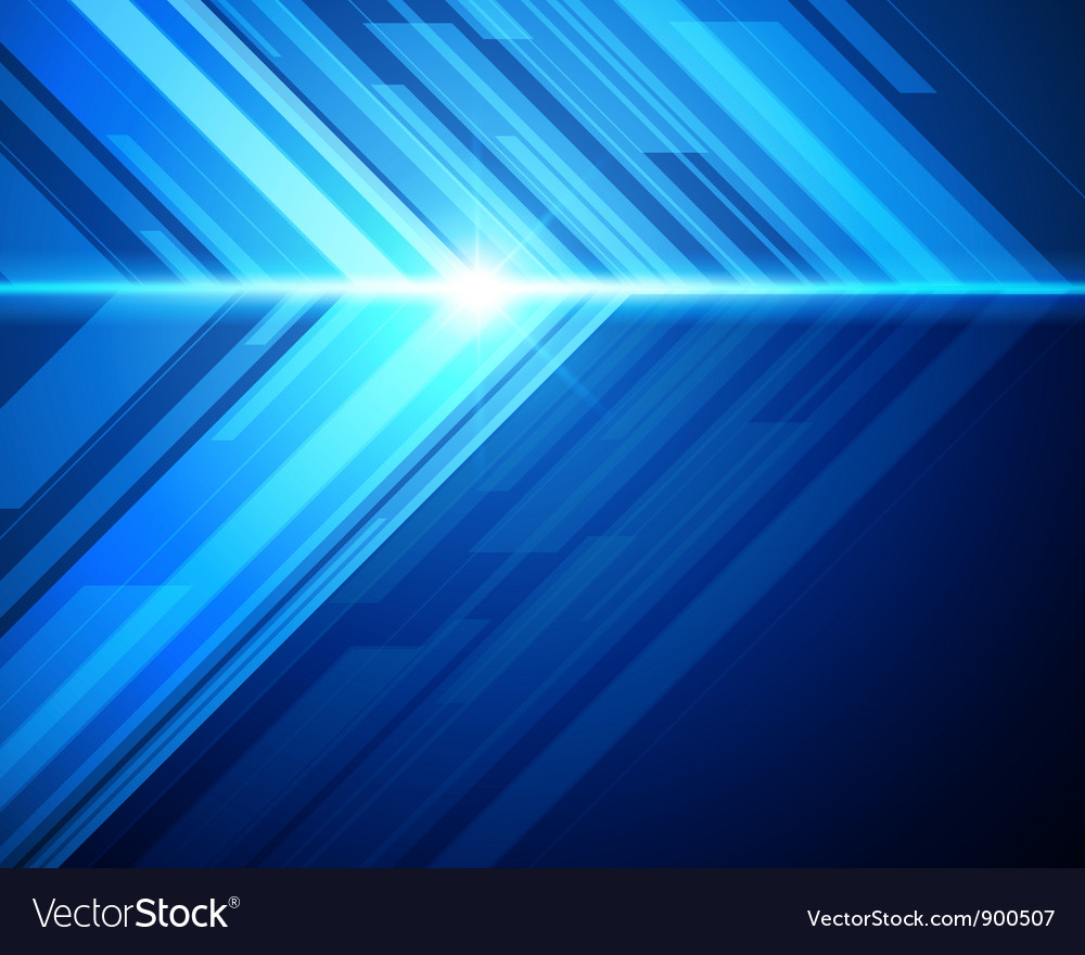 Abstract 3d technology background vector image