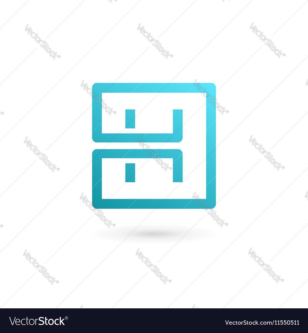 Letter h logo icon design template elements vector image letter h logo icon design template elements vector image pronofoot35fo Gallery
