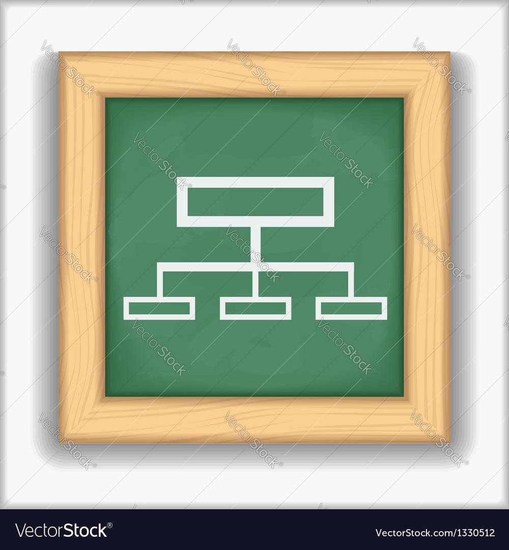 Diagram Icon vector image