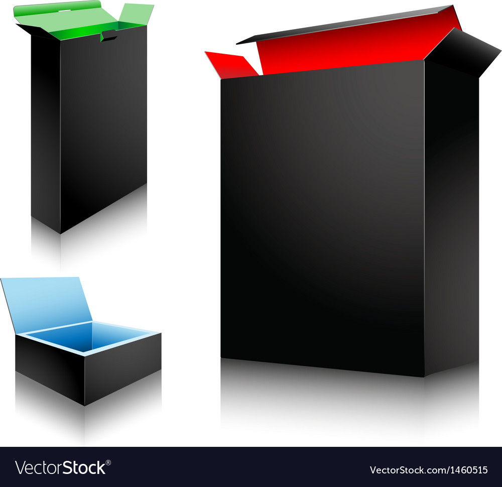 Art box vector image