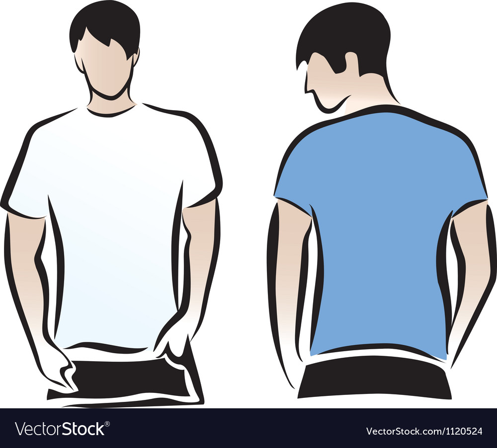T-shirts vector image