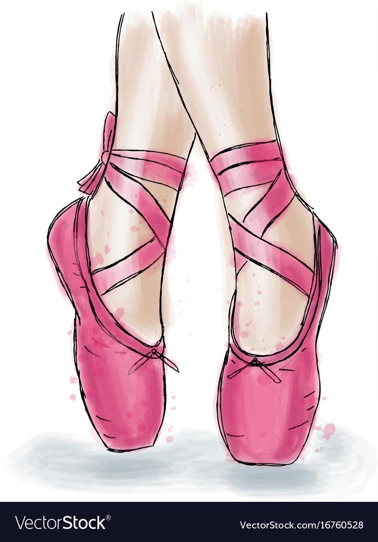 Images Of Pink Ballet Shoes | Gendiswallpaper.com