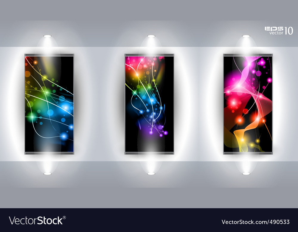 Art gallery vector image