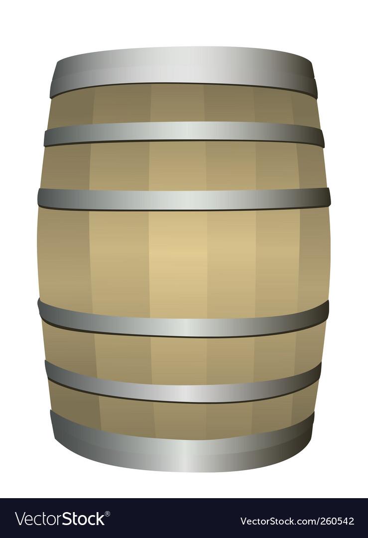 Barrel vector image