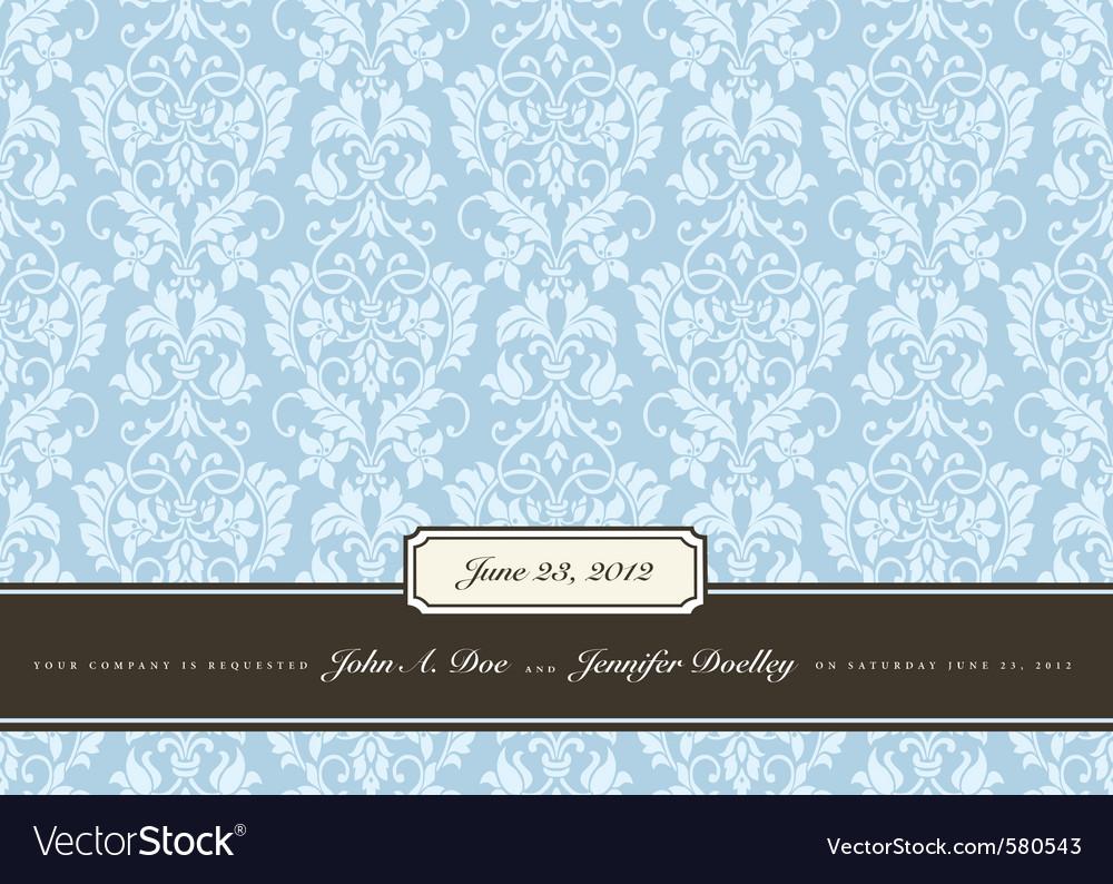Vnitage frame Vector Image