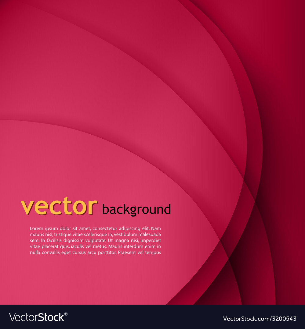 Purple smooth twist lines background vector image